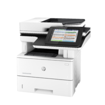 LaserJet Enterprise Flow MFP M527, Left facing, no output