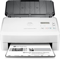 HP ScanJet Enterprise Flow 7000 s3 Sheet-feed Scanner, Center, Front, with output