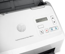 HP ScanJet Enterprise Flow 7000 s3 Sheet-feed Scanner, Detailed view of control panel