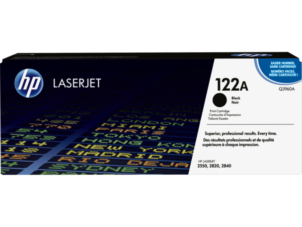 EMEA version - HP LaserJet 122A Black Print Cartridge