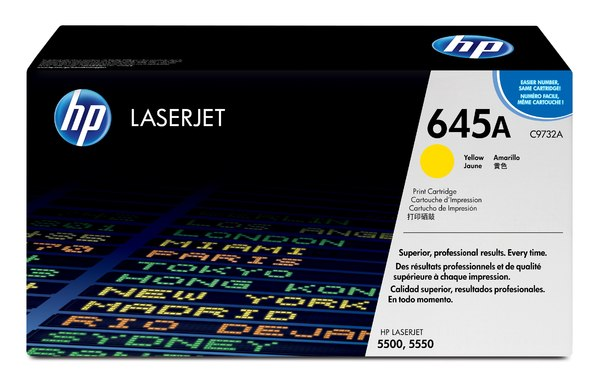 HP Color LaserJet C9732A YellowPrint Cartridge