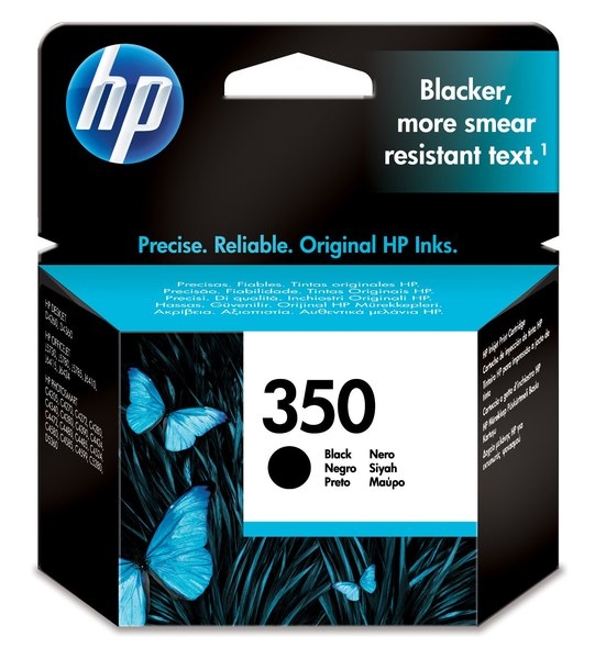 HP 350 Black Inkjet Print Cartridge