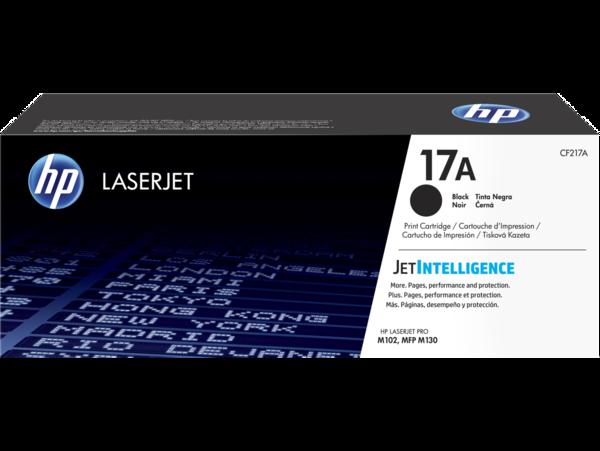 HP LaserJet 17A Black Print Cartridge