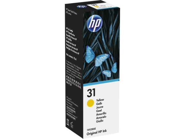 EMEA version - HP 31 Yellow Original Ink