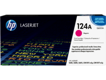 EMEA version - HP LaserJet 124A Magenta Print Cartridge