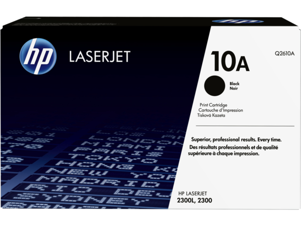 EMEA version - HP LaserJet 10A Black Print Cartridge