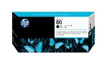 HP 80 Black Printhead and Printhead Cleaner