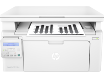 HP LaserJet Pro MFP M130nw, Center, Front, with output