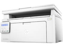 HP LaserJet Pro MFP M130nw, Hero, Left facing, no output