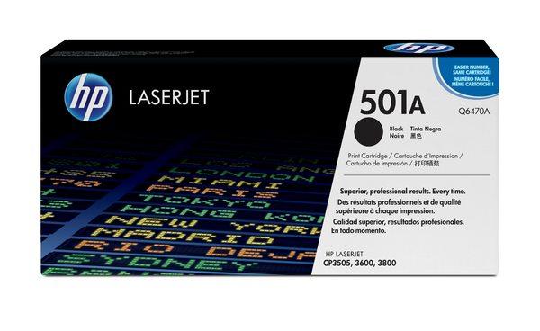 HP Color LaserJet Q6470A Black Print Cartridge