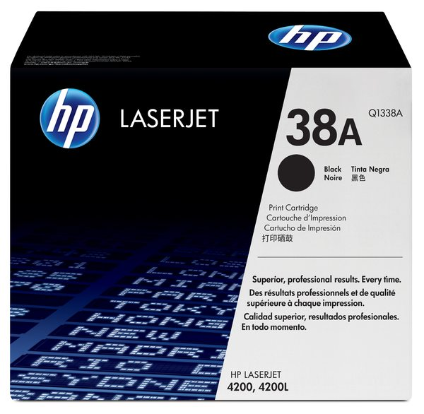 HP LaserJet Q1338A Black Print Cartridge
