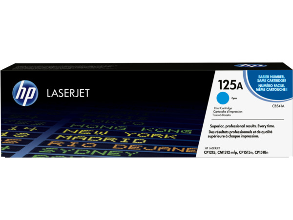 EMEA version - HP LaserJet 125A Cyan Print Cartridge