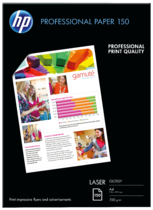 HP Professional Laser Paper 150 gsm-150 sht/A4/210 x 297 mm
