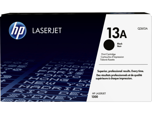 EMEA version - HP LaserJet 13A Black Print Cartridge