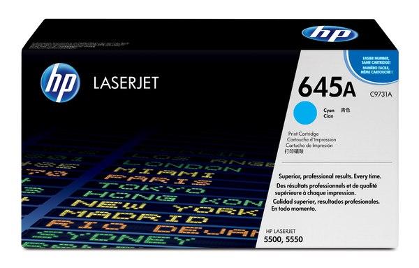 HP Color LaserJet C9731A Cyan Print Cartridge