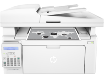 HP LaserJet Pro MFP M130fn, Center, Front, with output