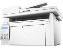 HP LaserJet Pro MFP M130fn, Hero, Left facing, no output