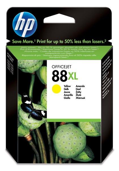 HP 88XL Yellow Officejet Ink Cartridge