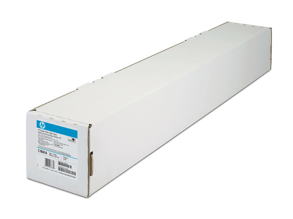 HP Bright White Inkjet Paper-914 mm x 45.7 m (36 in x 150 ft)
