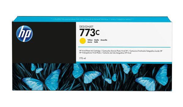 HP 773C 775-ml Yellow Designjet Ink Cartridge