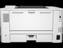 HP LaserJet Pro M402dne, Back