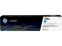 EMEA version - HP LaserJet 126A Cyan Print Cartridge