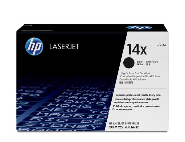 HP 14X Black LaserJet Toner Cartridge