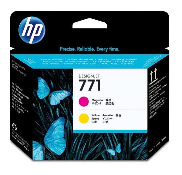 HP 771 Magenta/Yellow Designjet Printhead