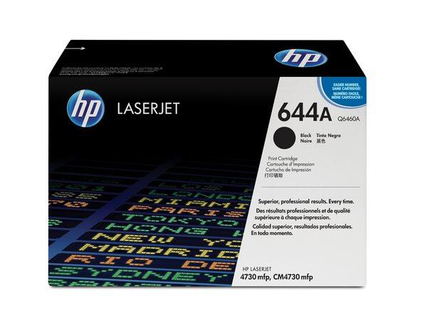 HP Color LaserJet Q6460A Black Print Cartridge