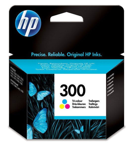 HP 300 Tri-color Ink Cartridge