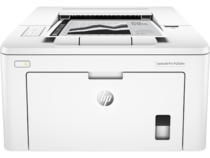 HP LaserJet Pro M203dw, Center, Front, with output