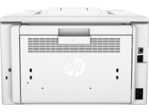 HP LaserJet Pro M203dw, Back