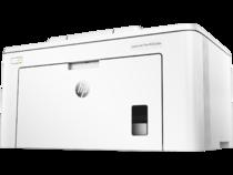 HP LaserJet Pro M203dw, Hero, Left facing, no output
