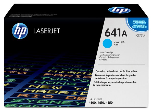 HP Color LaserJet C9721A Cyan Print Cartridge