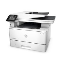 HP LaserJet Pro MFP M426fdw, Left facing, no output