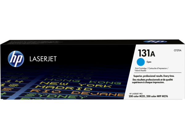 EMEA version - HP LaserJet 131A Cyan Print Cartridge