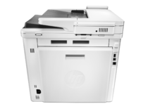 HP Color LaserJet Pro M477fdn Printer, rear facing