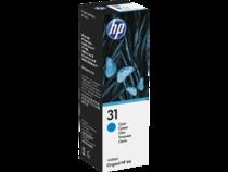 EMEA version - HP 31 Cyan Original Ink