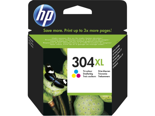 HP 304XL Tri-colour Original Ink Cartridge