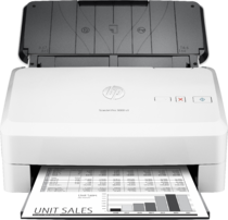 HP ScanJet Pro 3000 s3 sheet-feed Scanner, Center, Front, with output