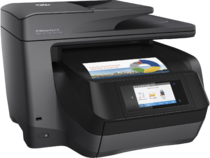 HP OfficeJet Pro 8728 All-in-One, Right facing, with output