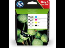 HP 903XL 4-pack Black/Cyan/Magenta/Yellow Ink Cartridges - EMEA