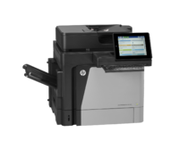 HP LaserJet Enterprise Flow MFP M630h, with keyboard, right view, no output