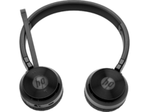 HP UC Wireless Duo Headset, center front facing