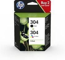 EMEA HP 304 HP 304 Ink Cartridges Combo Pack