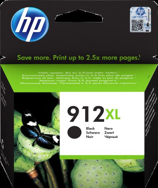 HP 912XL Black Ink Cartridge BGX - EMEA
