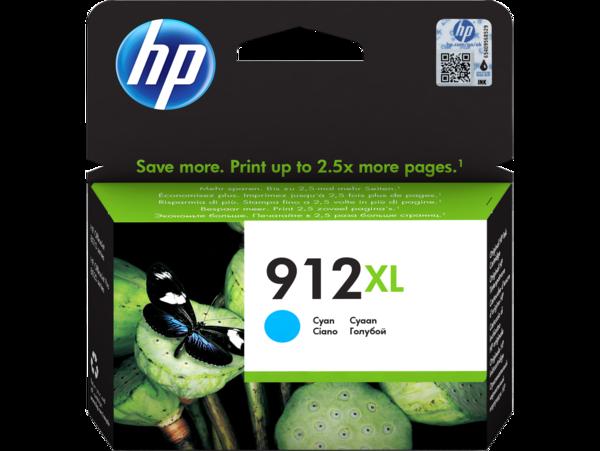 HP 912XL Cyan Ink Cartridge BGX - EMEA