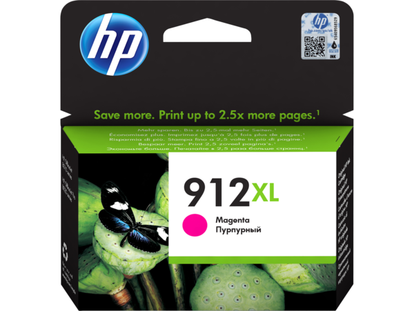 HP 912XL Magenta Ink Cartridge BGX - EMEA