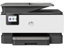 HP OfficeJet Pro 9010, Front