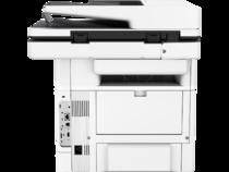 LaserJet Enterprise Flow MFP M527, Back